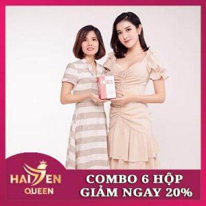 Combo 6 hộp Viên uống trắng da Nine's Beauty chiết khấu 20%