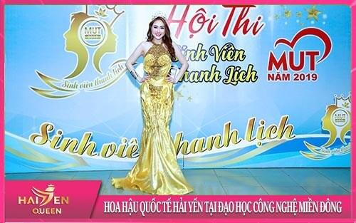 Hoa hậu Quốc tế Châu Á Hải Yến
