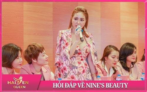 hỏi đáp về nine's beauty - Giám đốc kim cương Hải Yến