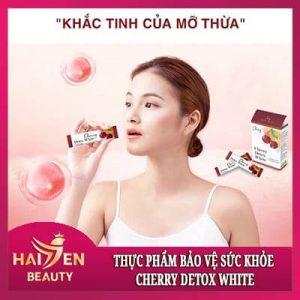 Thực phẩm bảo vệ sức khỏe Cherry Detox White