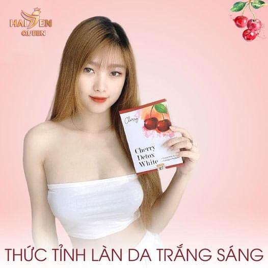 Thực phẩm bảo vệ sức khỏe Cherry Detox White dáng đẹp da xinh